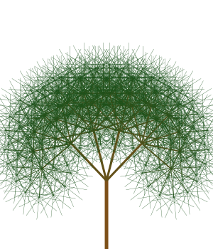 Recursively Drawing Trees with JavaScript and Canvas